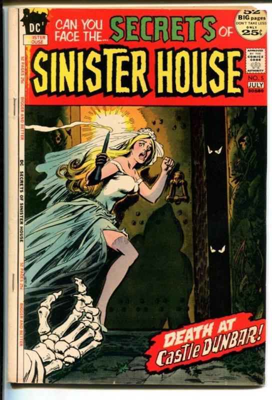 SECRETS OF SINISTER HOUSE #5-DC HORROR FN