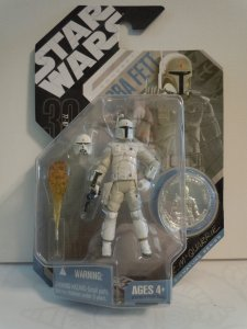 Star Wars 30th Anniversary McQuarrie Concept BOBA FETT Action Figure