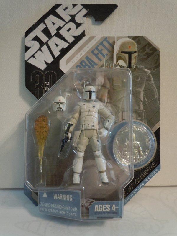 Star Wars 30th Anniversary McQuarrie Concept BOBA FETT Action Figure