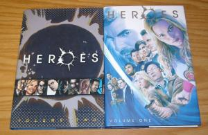 Heroes HC 1-2 VF/NM complete series - hardcovers based on tv show - set
