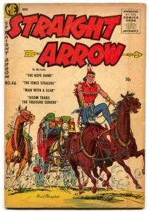 Straight Arrow #46 1955- Man With A Scar VG