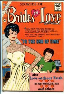 Brides in Love #23 1961-terrific art-spicy poses-bride cover-10¢-VG