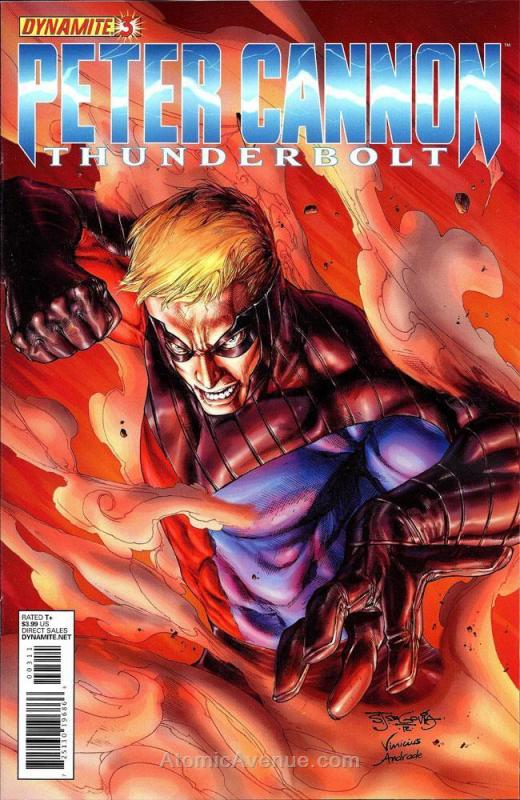 Peter Cannon: Thunderbolt (2nd Series) #3D VF/NM; Dynamite | save on shipping -