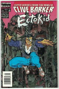Ectokid #1 (Newsstand) VF; Marvel | foil embossed cover - Razorline