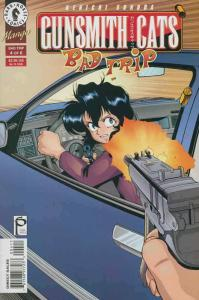 Gunsmith Cats: Bad Trip #4 VF/NM; Dark Horse | save on shipping - details inside