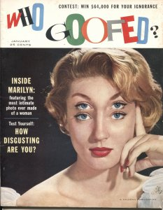 WHO GOOFED? #1-1956-GAHAN WILSON-REAMER KELLER-SATIRE & PARODY-HILLMAN PUBS