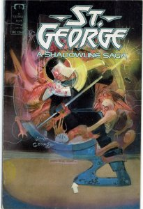 St. George: A Shadowline Saga #1 Marvel/Epic FN+