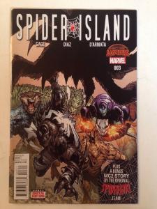 Spider Island 3 Near Mint Gage Diaz