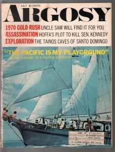 Argosy 7/1972-Hoffa's Plot to Kill Senator Kennedy-SCUBA dive-pulp fiction-FN