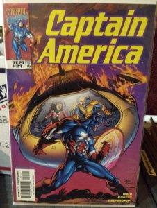 Captain America #21 NM