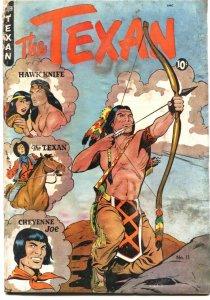 TEXAN #11-1950-ST JOHN-MATT BAKER COVER & 24 PAGES STORY ART-POOR CONDITION