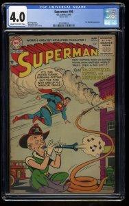 Superman #96 CGC VG 4.0 Mr. Mxyztplk!