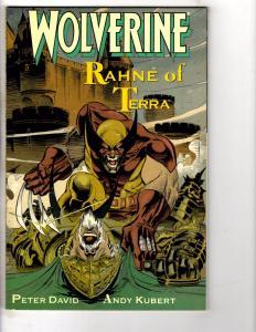 4 Wolverine Marvel Comic Books Rahne Of Terra Jungle Ad Global Evilution # 1 RC2