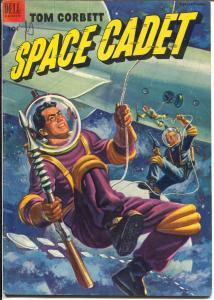 Tom Corbett Space Cadet  #5 1953-Dell-TV Series-Mc Williams-VG/FN