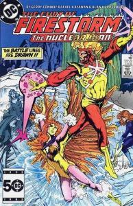 Fury of Firestorm (1982 series) #36, NM- (Stock photo)