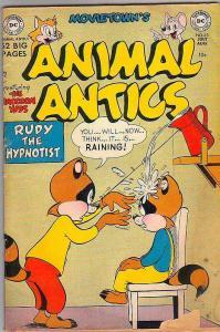 Animal Antics #33 (Jul-51) VG Affordable-Grade The Racoon Kids, Custer Cat an...