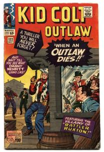 KID COLT OUTLAW #122 comic book-Western-Marvel- 1965 VG