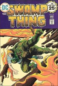 DC SWAMP THING (1972 Series) #14 GD+