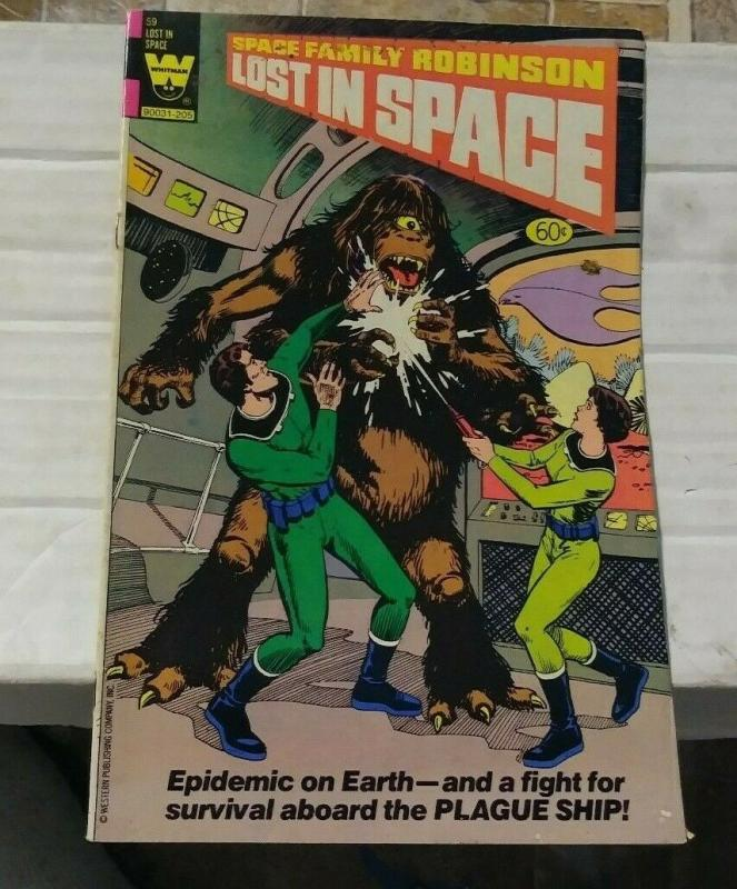 space family robinson #59 1982 whitman comics