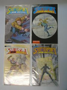 Shatterpoint set #1-4 8.0 VF (1990)