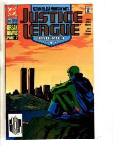 Lot Of 10 Justice League America DC Comics # 56 57 58 59 60 61 62 63 64 65 CR17