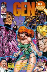 GEN 13 25-Different, Indie Comics' Mutant Super Teen