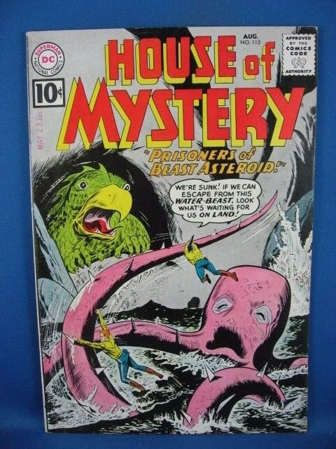 House of Mystery #113 (Aug 1961, DC) VF