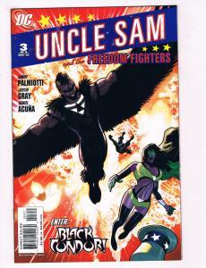 Uncle Sam & The Freedom Fighters #3 NM DC Comics Comic Book Nov 2006 DE28