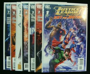 DC Justice League Cry for Justice #1-7 Complete Run Series Robinson Cascioli