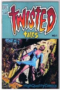 TWISTED TALES #1, VF, Richard Corben, Alfredo Alcala, 1982, Infected, All Hallow