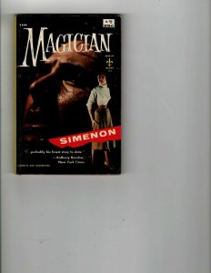 4 Books The Magician The Harvey Girls Daughters of Eve Washington Confident JK17