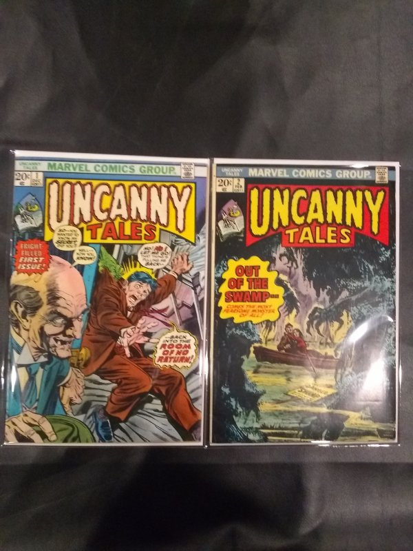 Uncanny Tales #1and #2