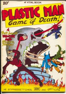 Flashback #11 1974-Reprints Plastic Man #1  from 1943-NM