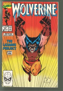 WOLVERINE 27 NM JIM LEE COVER!50% OFF OF 27.00