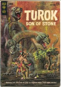 Turok Son Of Stone #31 1963-2nd Gold Key issue-monster cover-VG