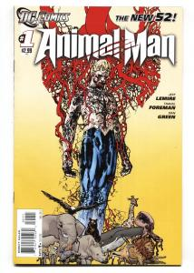 Animal Man #1 2011-comic book-NEW 52-1st PANDORA
