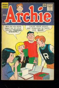 ARCHIE COMICS #144 1964-Betty, Veronica, Jughead-REGGIE VG