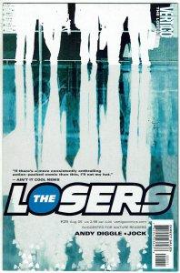 The Losers #25 Vertigo/DC Andy Diggle NM