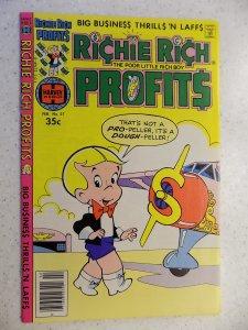 RICHIE RICH PROFITS # 27 HARVEY CARTOON ADVENTURE FUNNY