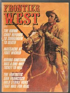 Frontier West 2/1973-Dell-frontier medicine-Devil Women-Fort Wicked-G/VG