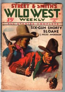 WILD WEST WEEKLY-12/17/1933-PULP-HUNGRY AND RUSTY G/VG