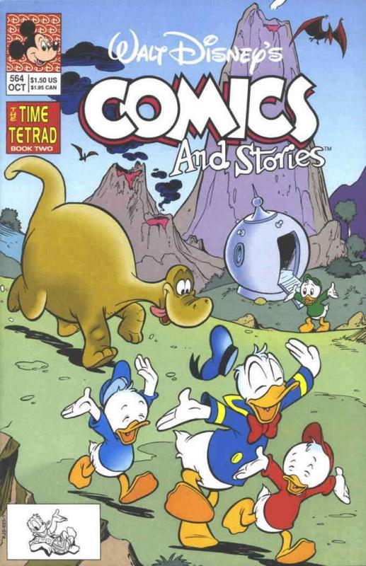 Walt Disney's Comics and Stories #564 VF/NM; Dell | save on shipping - details i