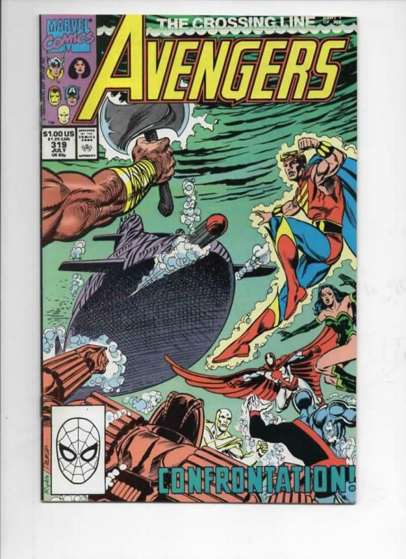 AVENGERS #319, VF/NM, Captain, Thor, Iron Man, 1963 1990, more Marvel in store