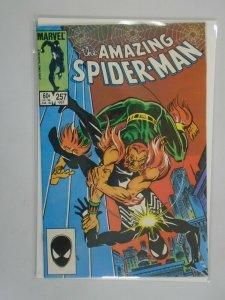 Amazing Spider-Man #257 Direct edition 8.0 VF (1984 1st Series)