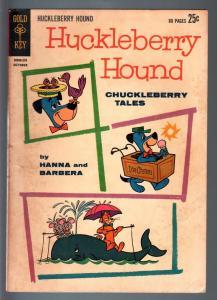 HUCKLEBERRY HOUND #18-CHUCKLEBERRY TALES-1962 GIANT ED-TOP CAT-PIXIE & DIXI VG