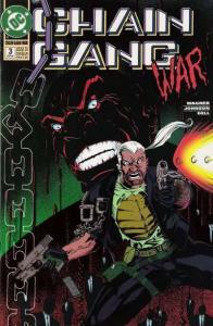 Chain Gang War #3, VF+ (Stock photo)