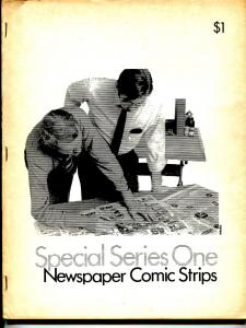 Special series #1 1971-1st issue-newspaper comic strips-Rick Durell-Jennings-VG