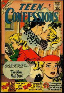 TEEN CONFESSIONS #6 1960 CHARLTON COMICS ROMANCE VG