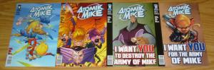 Atomik Mike vol. 2 #1-4 VF/NM complete series - desperado comics - all ages fun