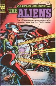ALIENS (1982 WHITMAN; CAPTAIN JOHNER AND THE) 2 FINE MA COMICS BOOK